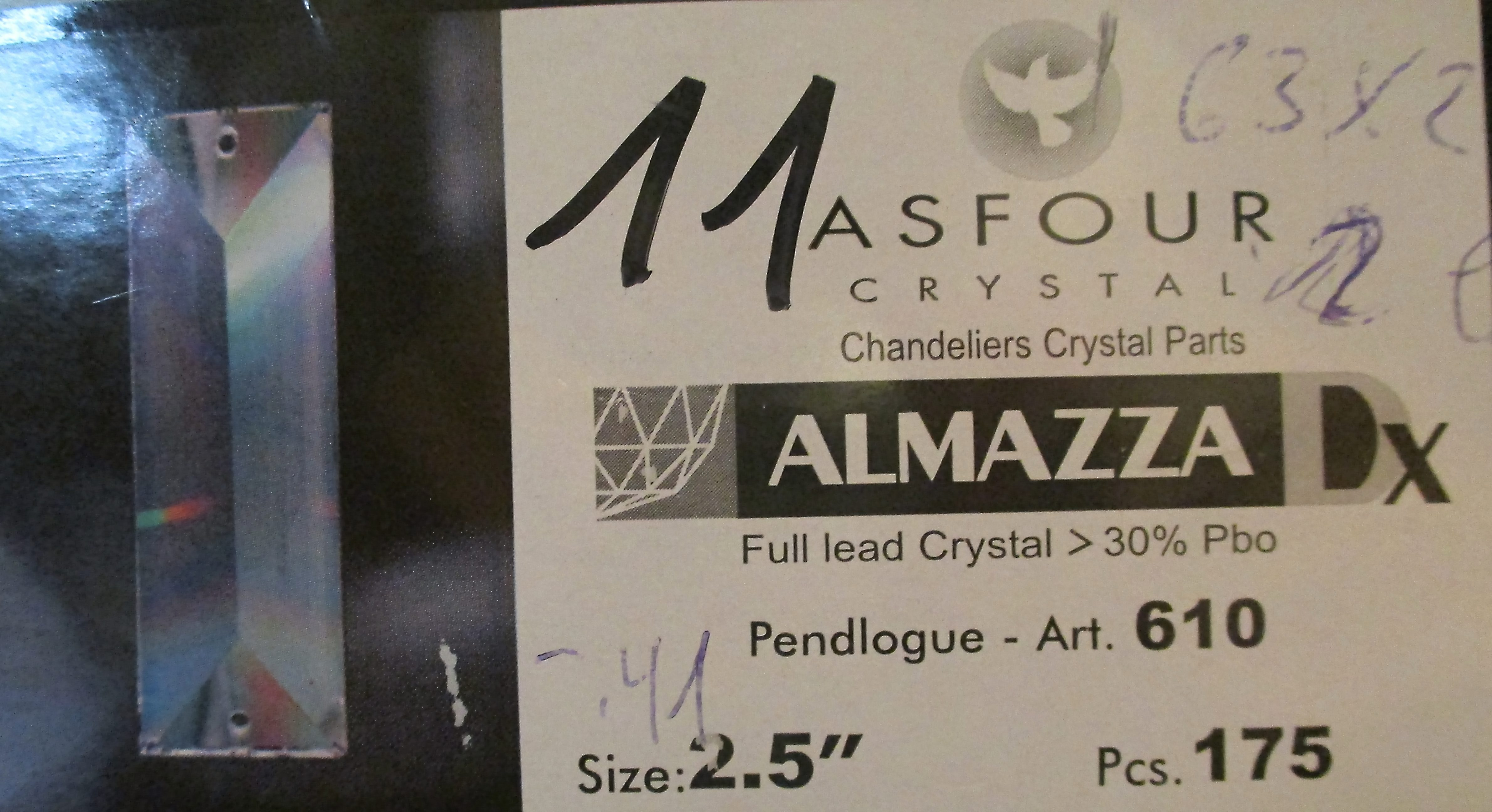Asfour Crystal 610 - 11