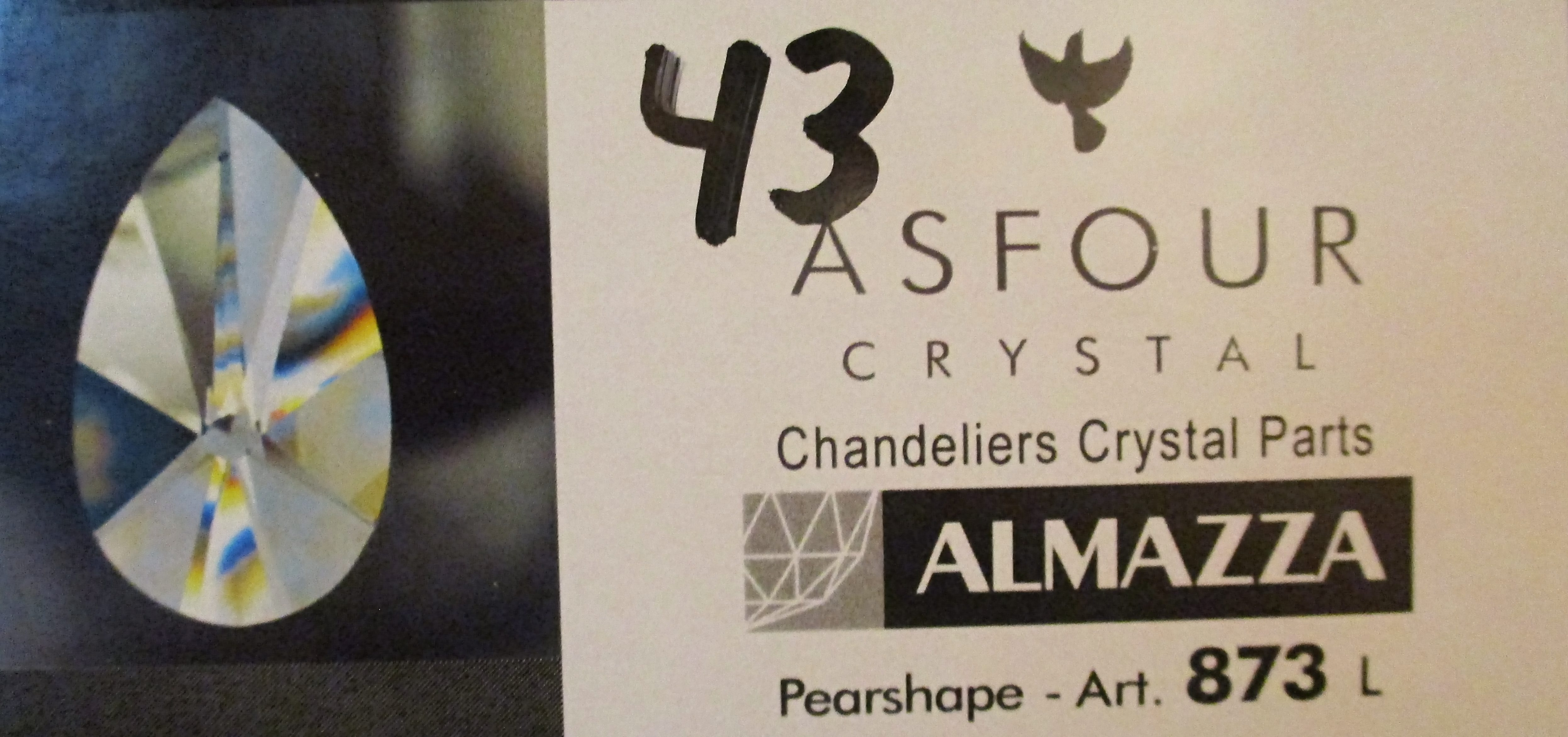 Asfour Crystal 873 - 41 -43