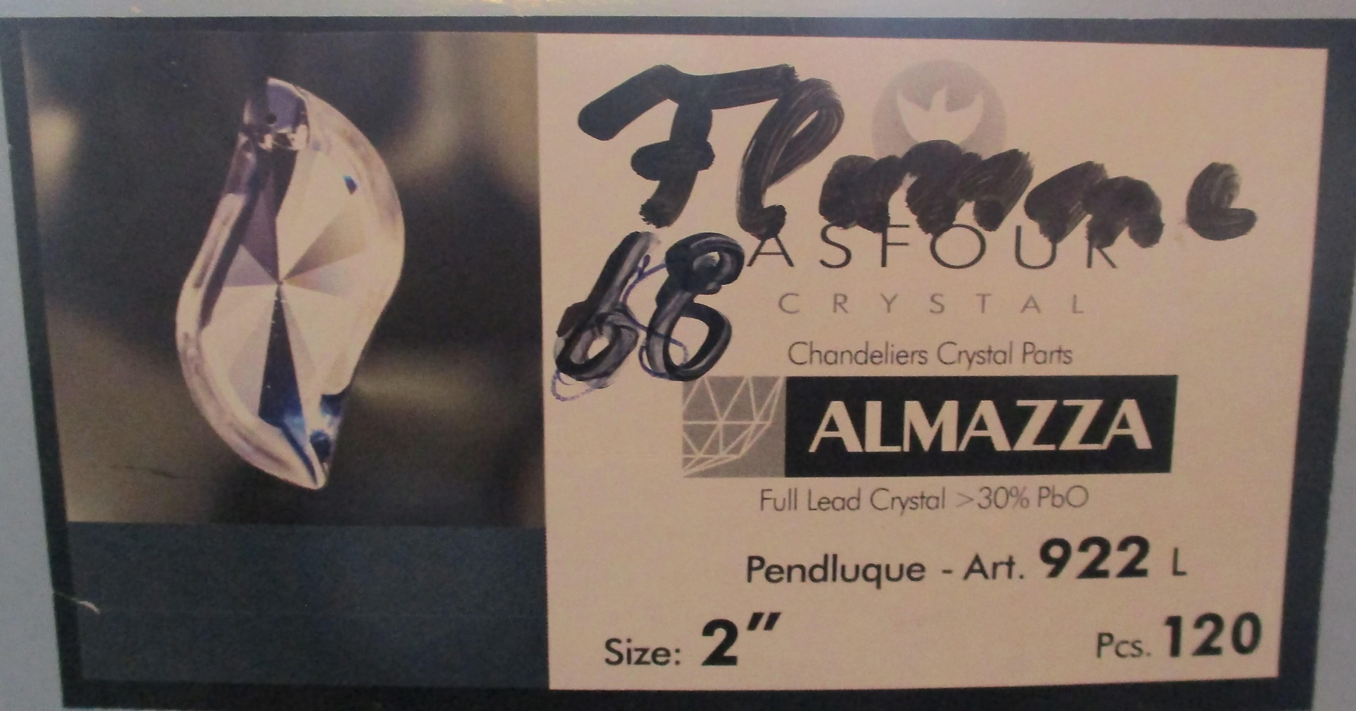 Asfour Crystal 922 - 68 - Flamme